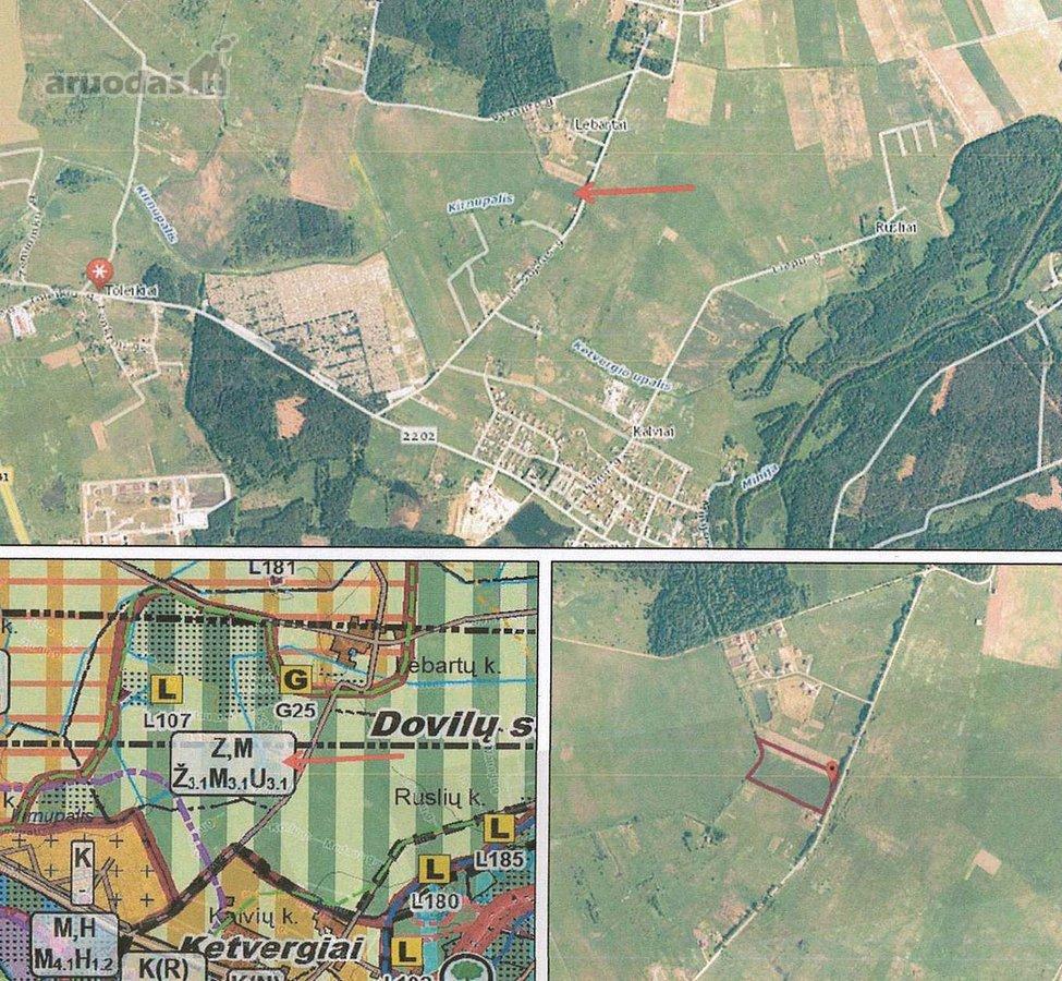 Klaipėdos r. sav., Toleikių k., žemės ūkio paskirties sklypas