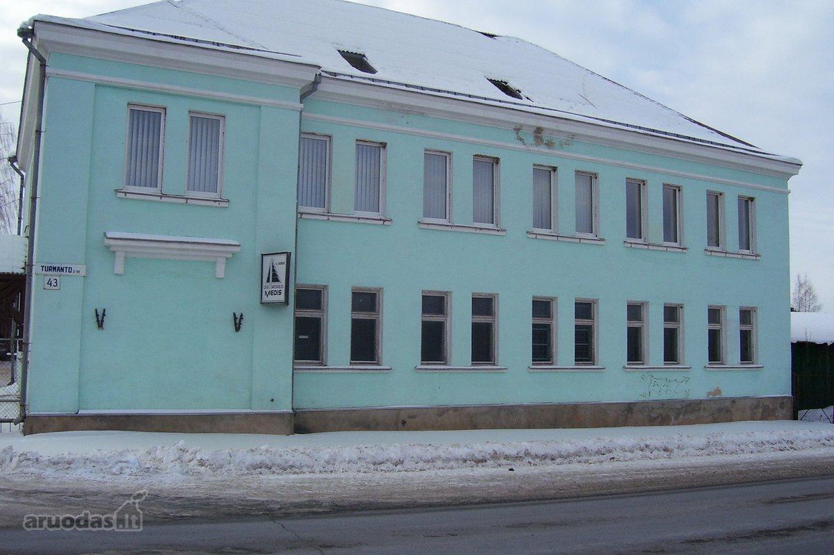 Zarasų r. sav., Zarasų m., Turmanto g., biuro, sandėliavimo, gamybinės paskirties patalpos