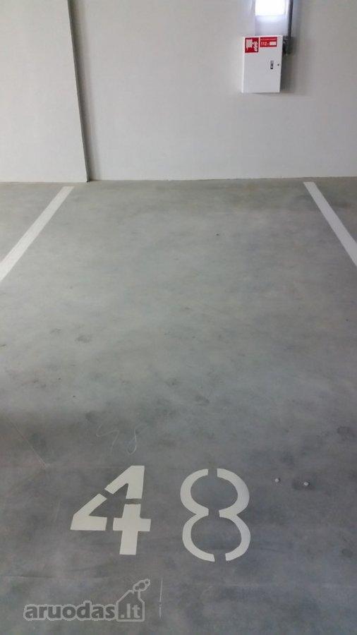 Vilnius, Naujamiestis, Savanorių pr., underground garage for rent