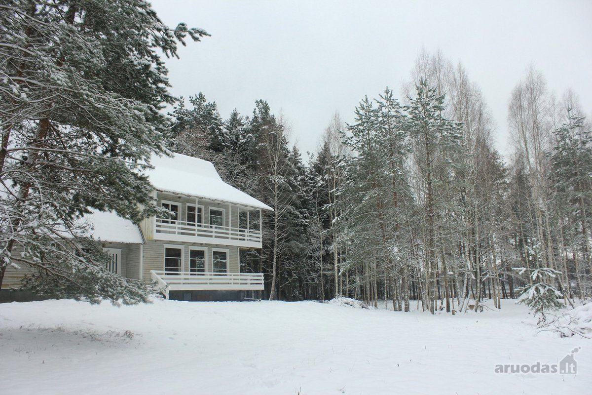 Molėtų r. sav., Kaulakių k., Miško g., medinė sodyba