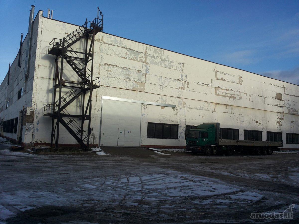 Kaunas, Dainava, Chemijos g., sandėliavimo, gamybinės paskirties patalpos nuomai