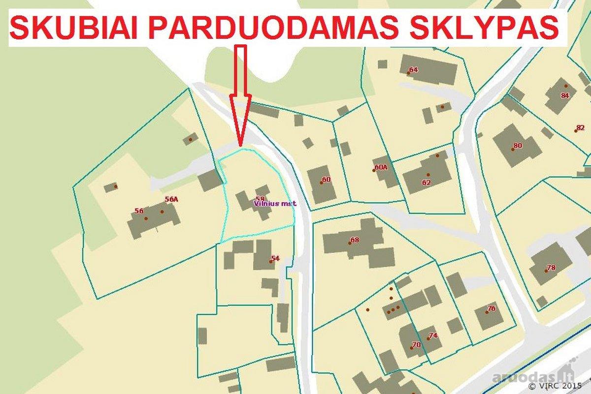Vilnius, Antakalnis, Stepono Batoro g., namų valdos paskirties sklypas