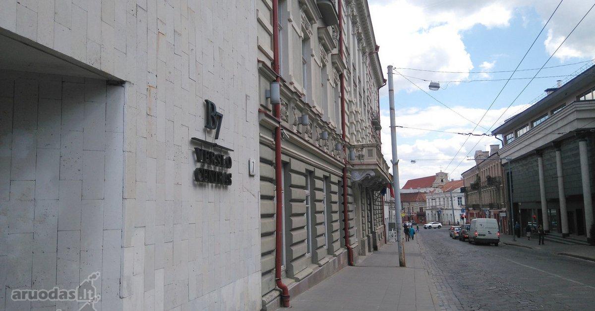 Vilnius, Senamiestis, J. Basanavičiaus g., biuro paskirties patalpos nuomai