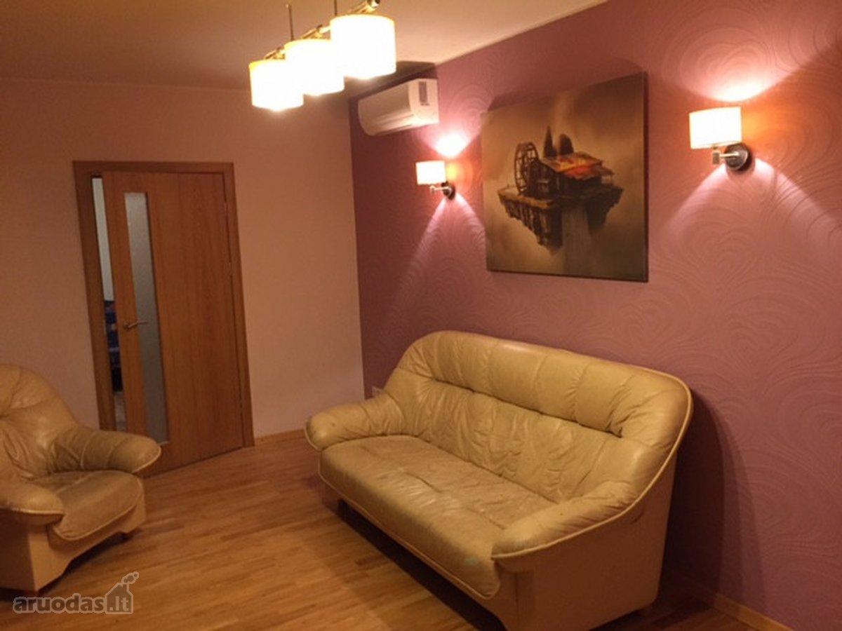 Kaunas, Aukštieji Šančiai, Vievio g., 3 kambarių buto nuoma