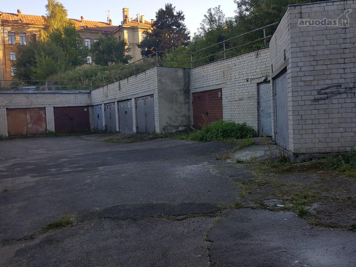 Vilnius, Senamiestis, Vingrių g., mūrinis garažas