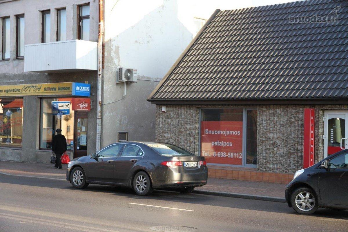Marijampolės m., Centras, V. Kudirkos g., biuro, prekybinės, paslaugų, sandėliavimo, gamybinės, maitinimo, kita paskirties patalpos nuomai