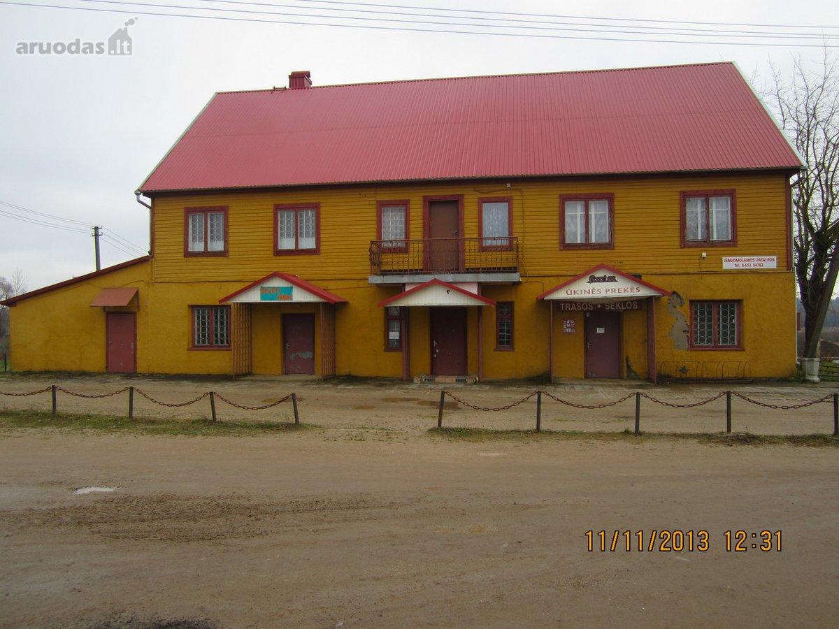Rokiškio r. sav., Obelių m., Dariaus ir Girėno g., prekybinės, paslaugų paskirties patalpos