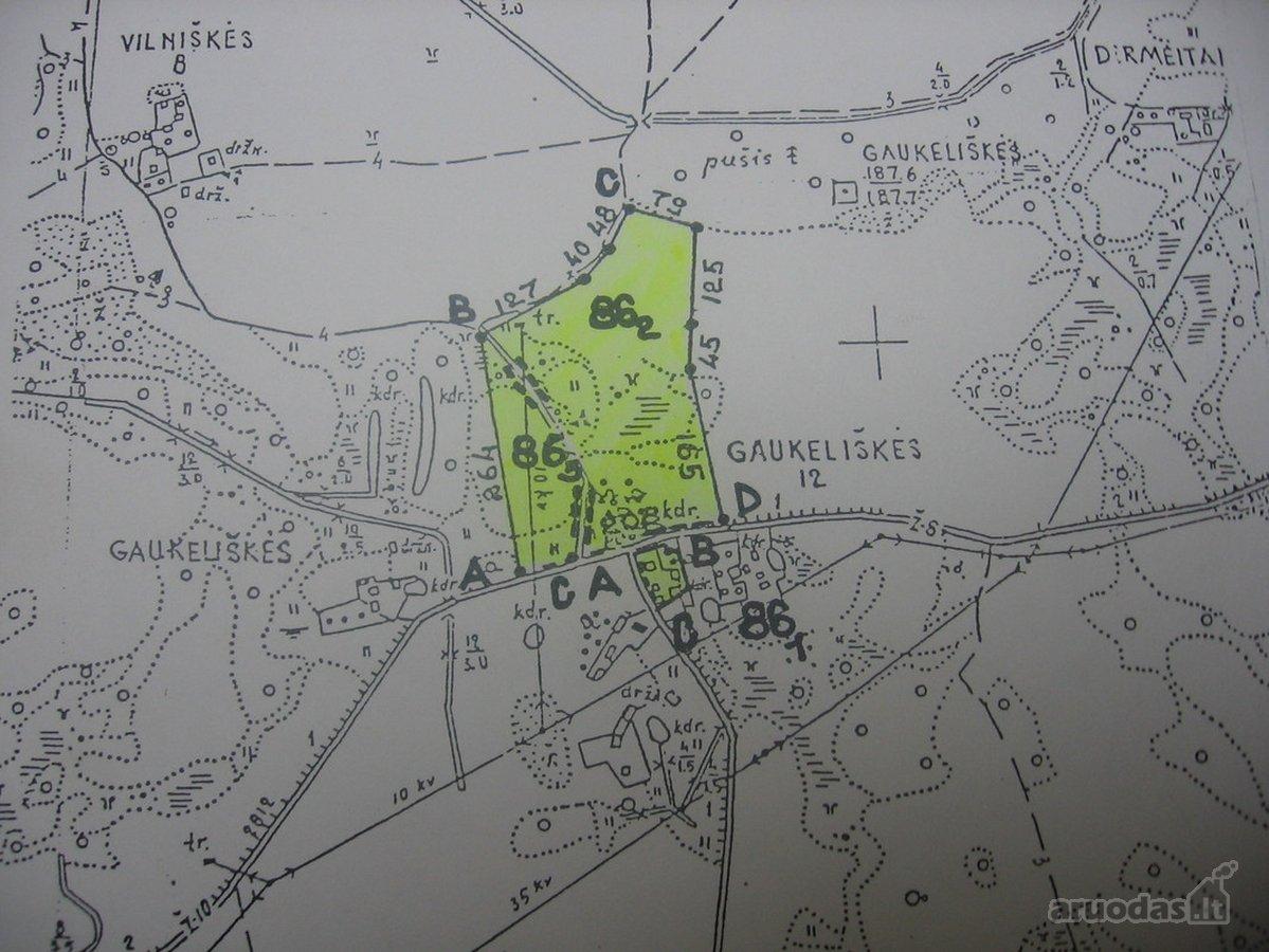 Vilniaus r. sav., Vilniškių k., agricultural purpose vacant land