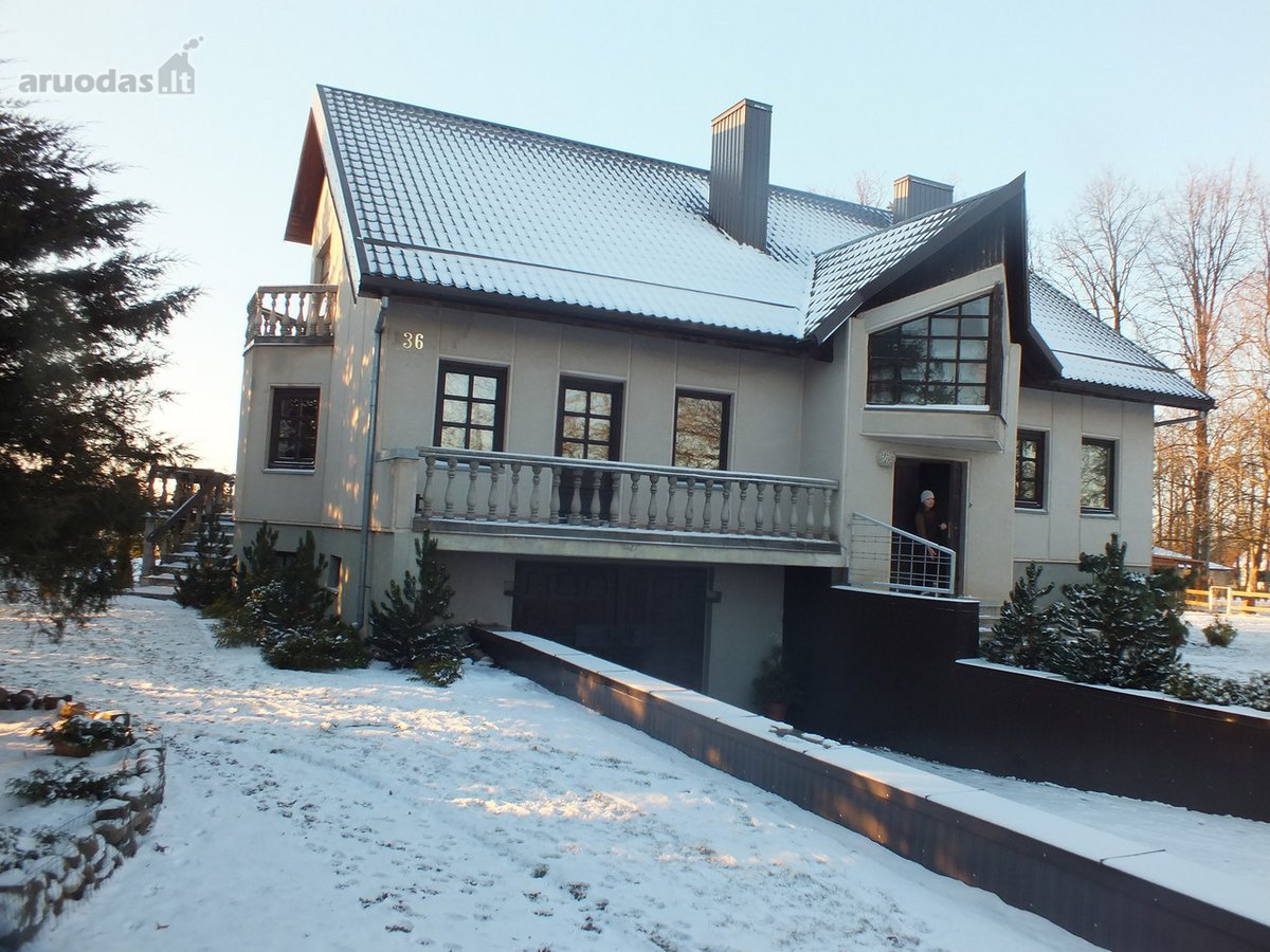 Panevėžio r. sav., Paliūniškio k., mūrinis namas