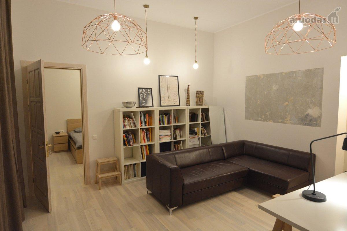 Vilnius, Senamiestis, Gervėčių g., 2 kambarių buto nuoma