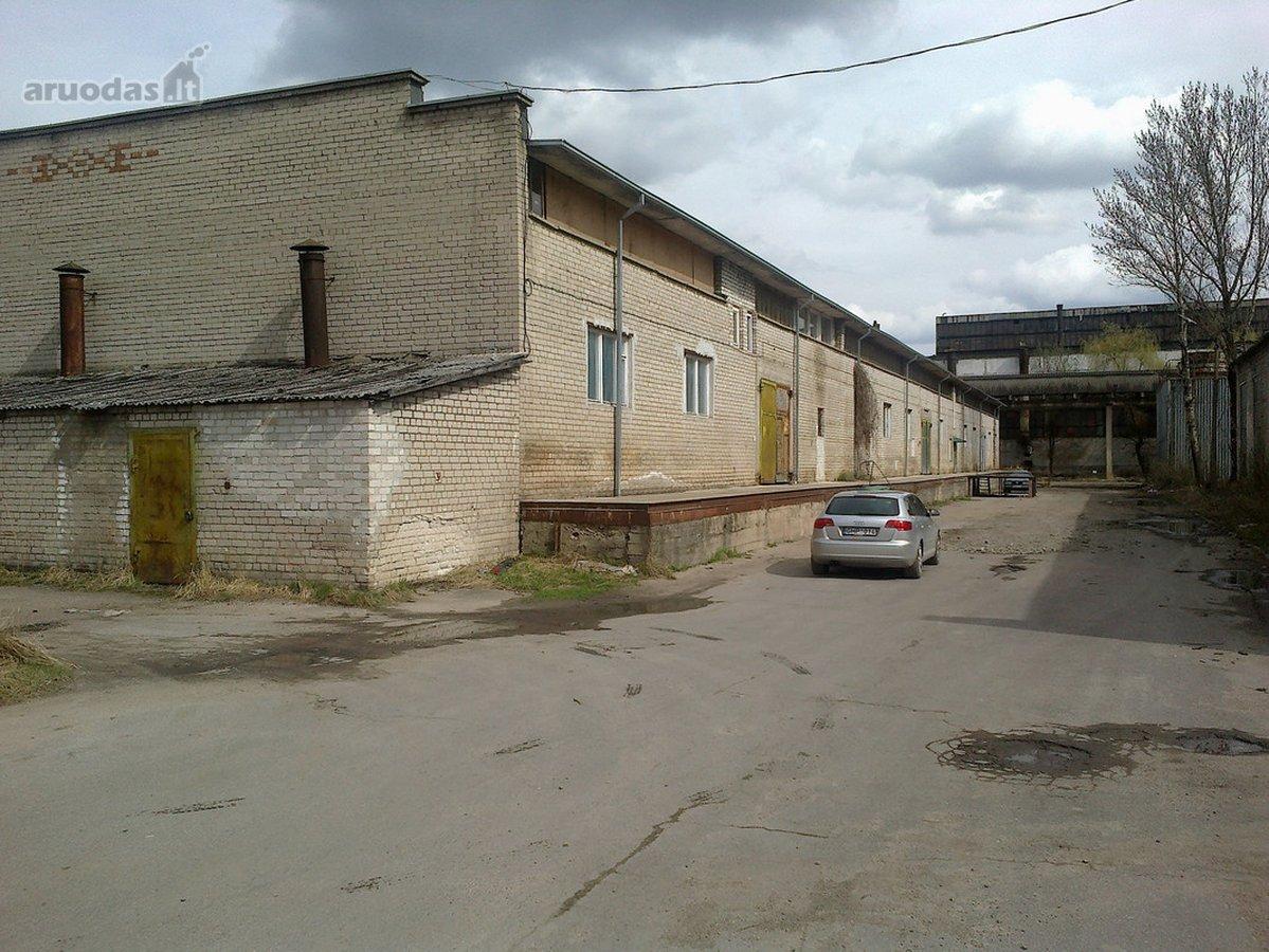 Kaunas, Petrašiūnai, R. Kalantos g., sandėliavimo, gamybinės paskirties patalpos nuomai