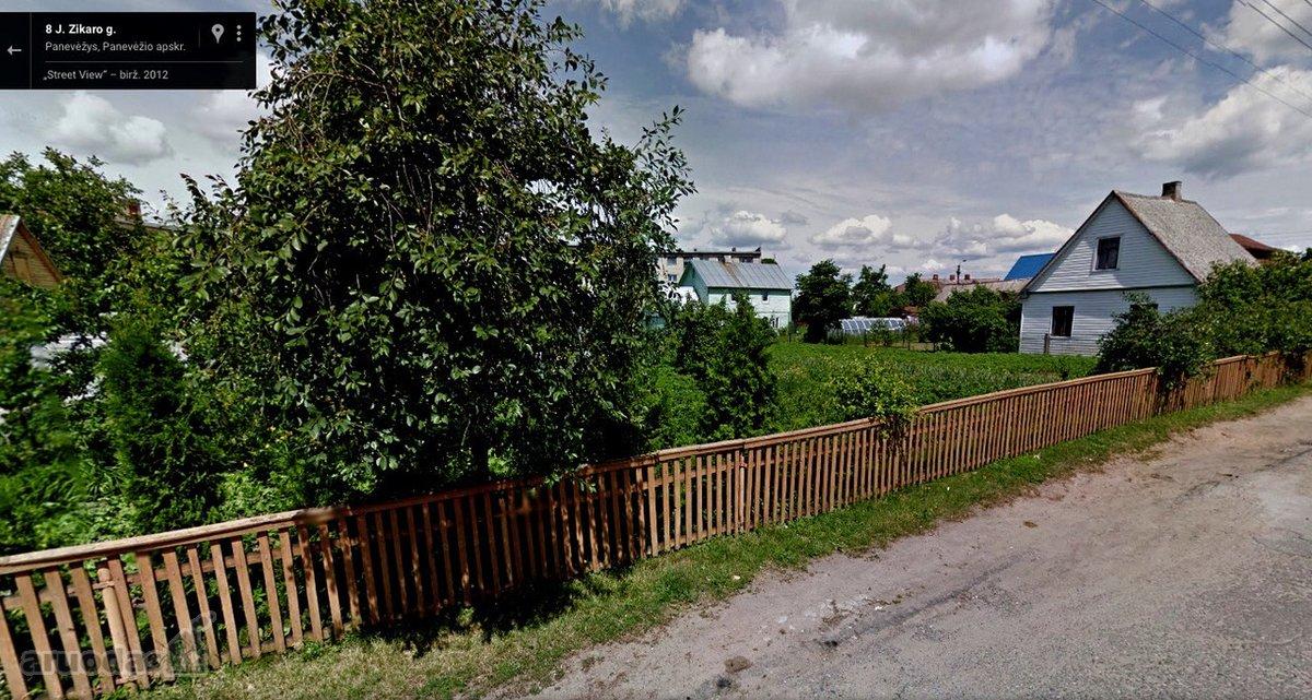 Panevėžys, Centras, J. Zikaro g., namų valdos paskirties sklypas