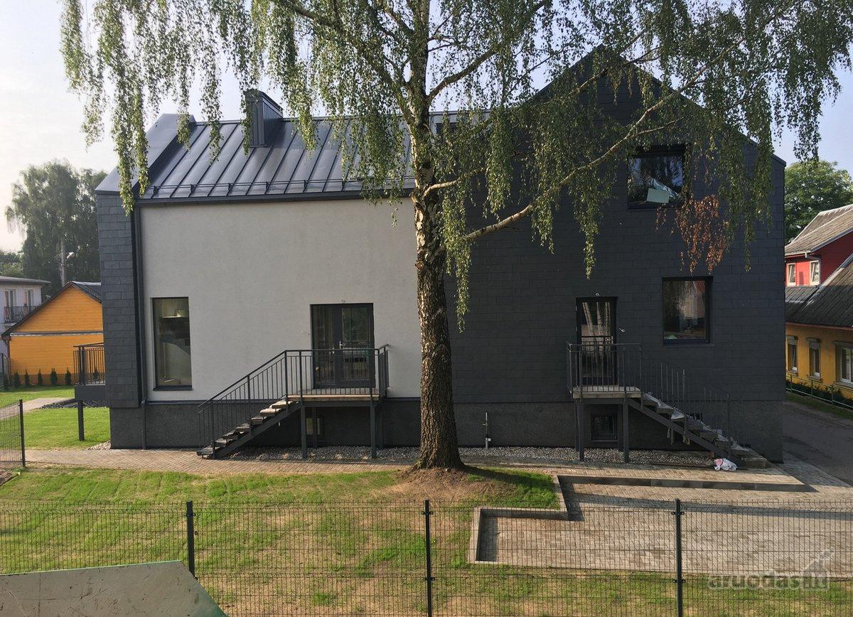 Kaunas, Centras, A. Mackevičiaus g., mūrinis sublokuotas namas