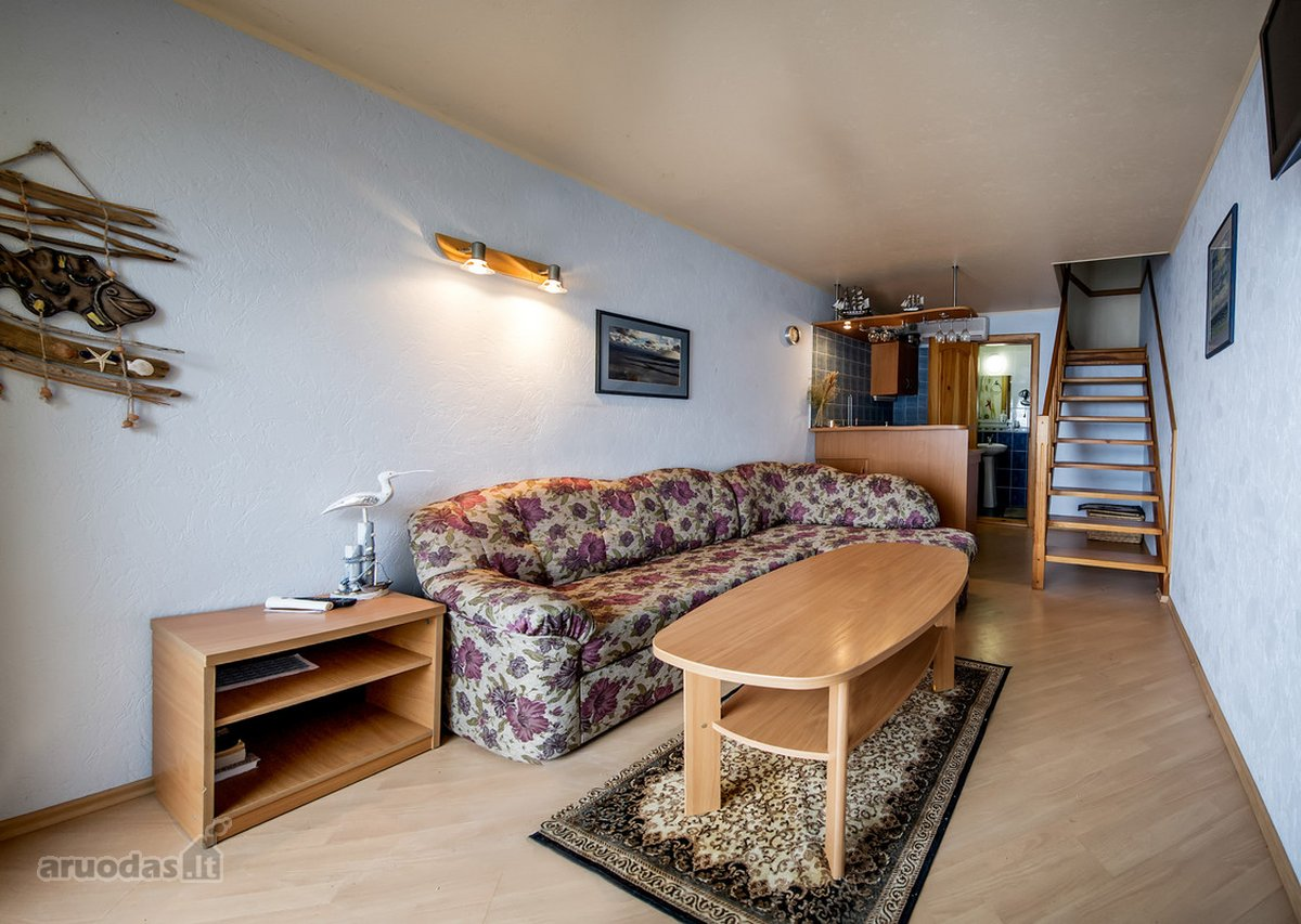 Neringos sav., Neringos m., Purvynės g., 2 kambarių butas