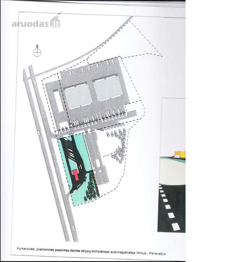 Širvintų r. sav., Širvintų m., gamybinės, sandėliavimo, komercinės paskirties sklypas