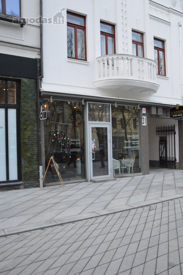 Kaunas, Centras, Laisvės al., biuro, prekybinės, maitinimo paskirties patalpos nuomai