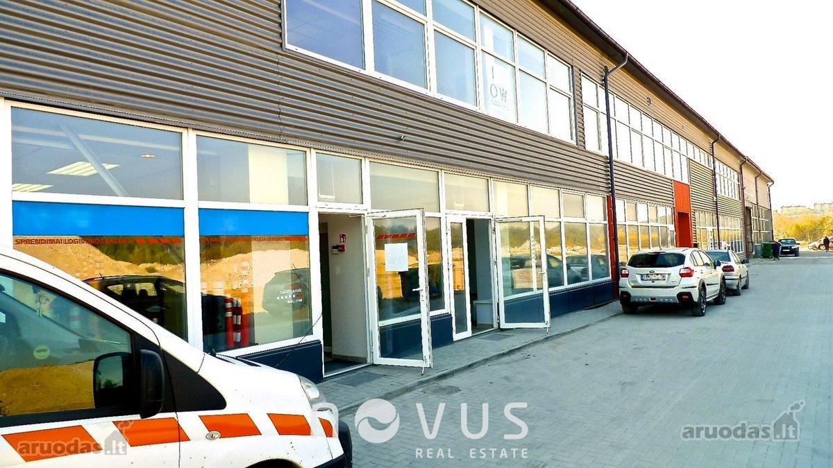 Vilnius, Naujamiestis, Geležinio Vilko g., biuro, prekybinės, paslaugų, sandėliavimo, gamybinės paskirties patalpos nuomai