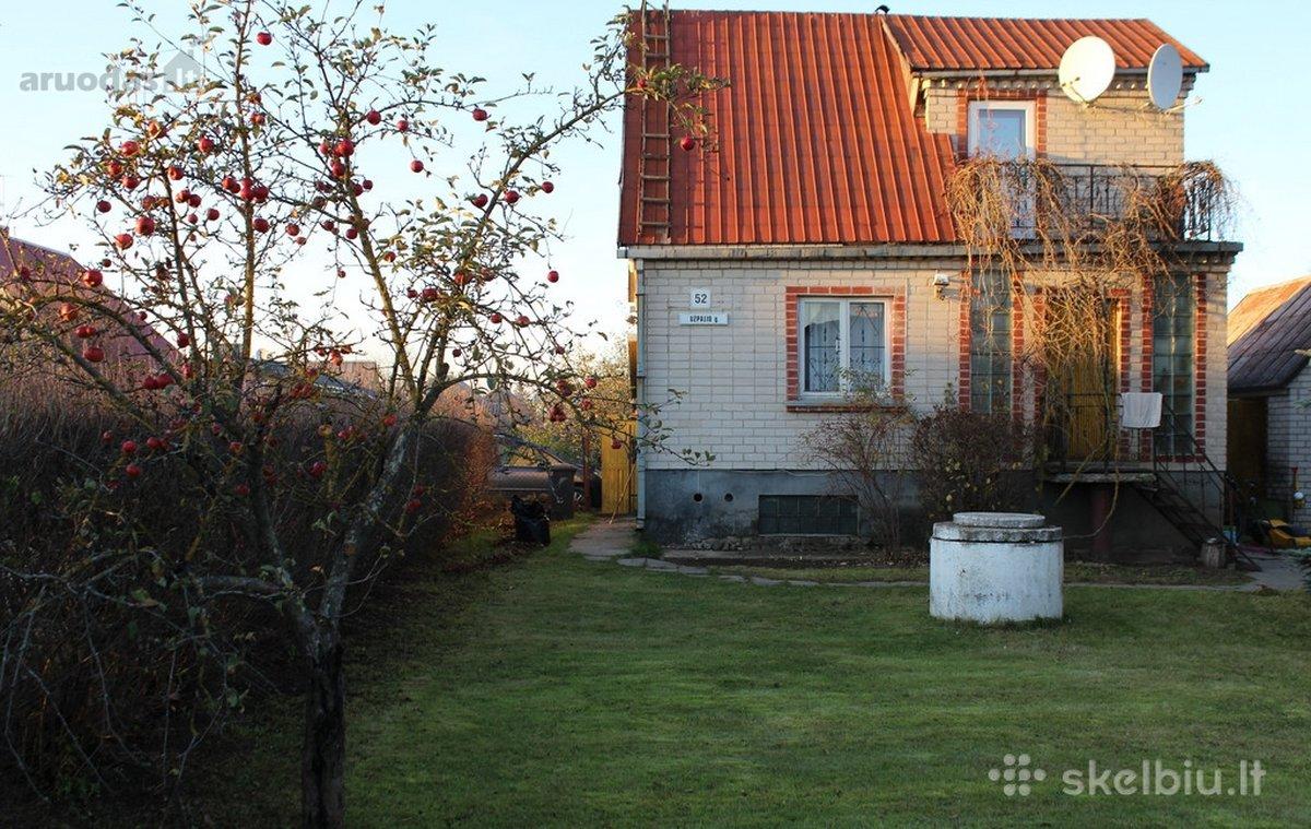 Vilnius, Balsiai, Užpalių g., mūrinis sodo namas