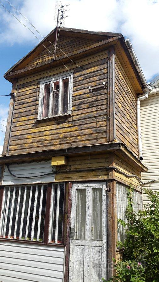 Panevėžys, Centras, Kęstučio g., karkasinė namo dalis