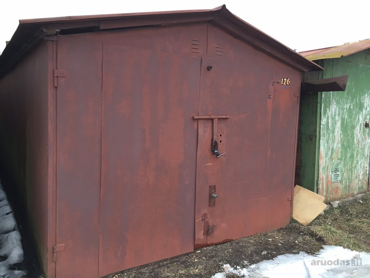 Vilnius, Pašilaičiai, geležinis garažo nuoma