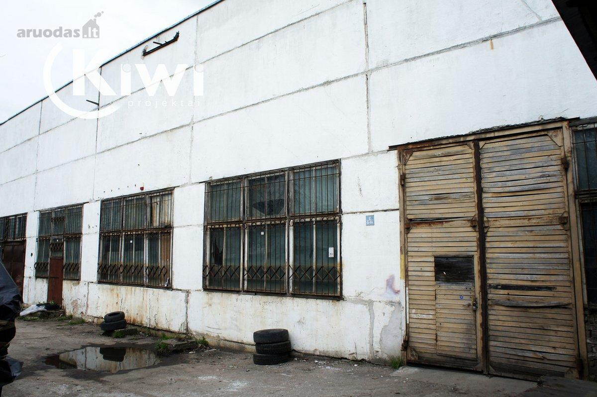 Vilnius, Aukštieji Paneriai, V. A. Graičiūno g., sandėliavimo, gamybinės, kita paskirties patalpos nuomai