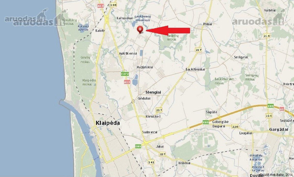 Klaipėdos r. sav., Radailių k., Beržyno g., namų valdos paskirties sklypas