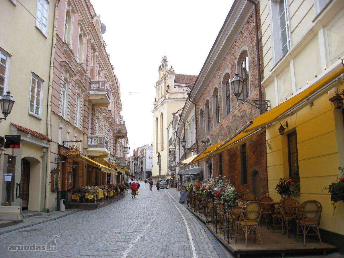 Vilnius, Senamiestis, Pilies g., 3 kambarių buto nuoma