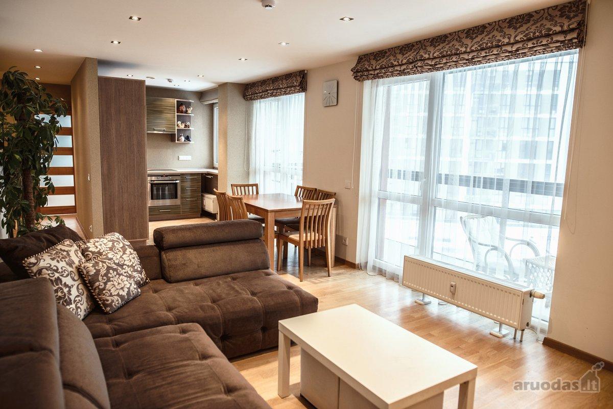 Vilnius, Visoriai, Bajorų kelias, 3 kambarių butas