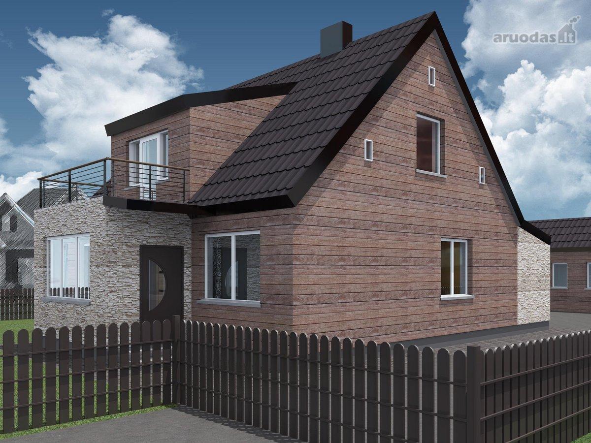 Širvintų m., Šermukšnių g., mūrinis namas