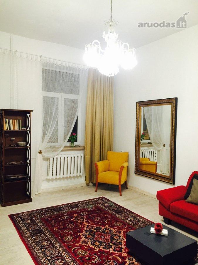 Vilnius, Senamiestis, Trakų g., 2 kambarių buto nuoma