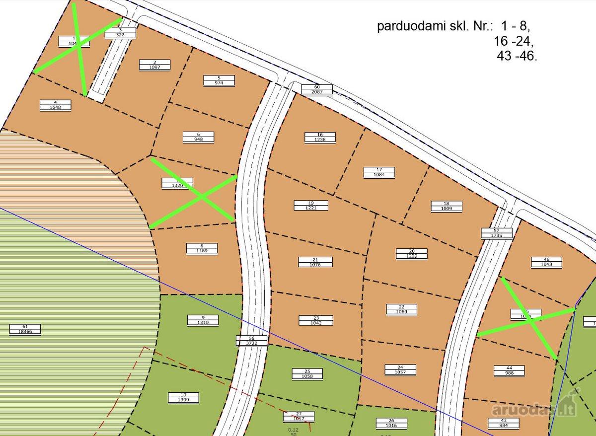 Vilnius, Pilaitė, Platiniškių g., namų valdos paskirties sklypas