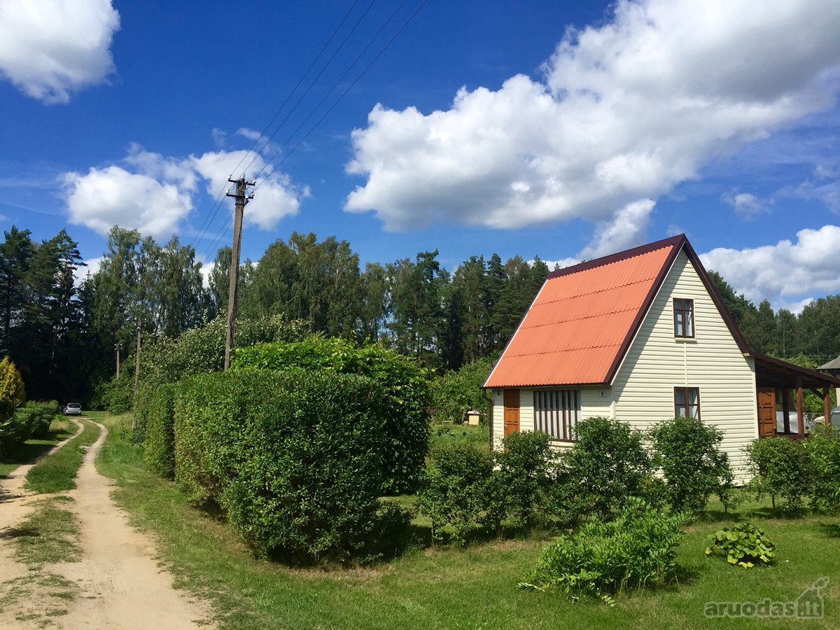Panevėžio r. sav., Kaubariškio k., medinis sodo namas