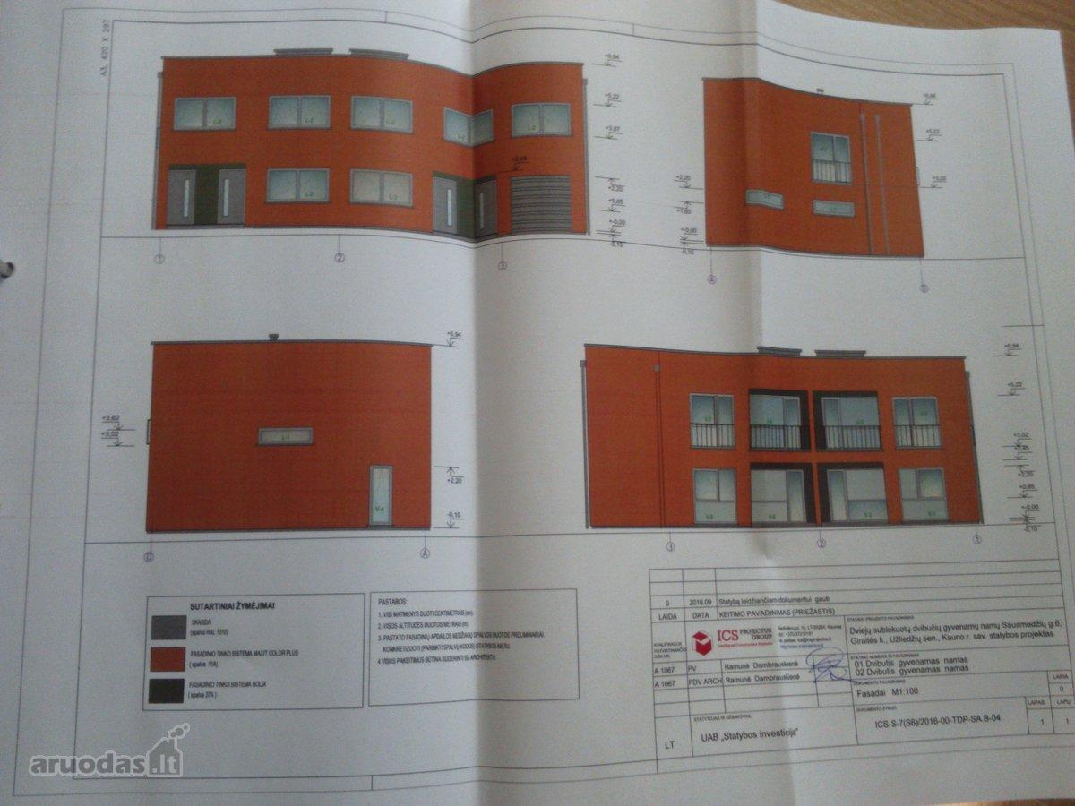 Kauno r. sav., Giraitės k., Sausmedžių g., 3 kambarių butas