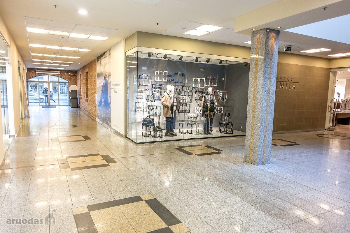 Klaipėda, Centras, H. Manto g., biuro, prekybinės, maitinimo, kita paskirties patalpos nuomai