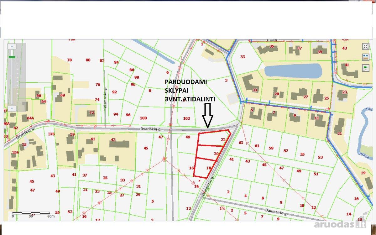 Vilnius, Didieji Gulbinai, Gulbinėlių g., namų valdos paskirties sklypas