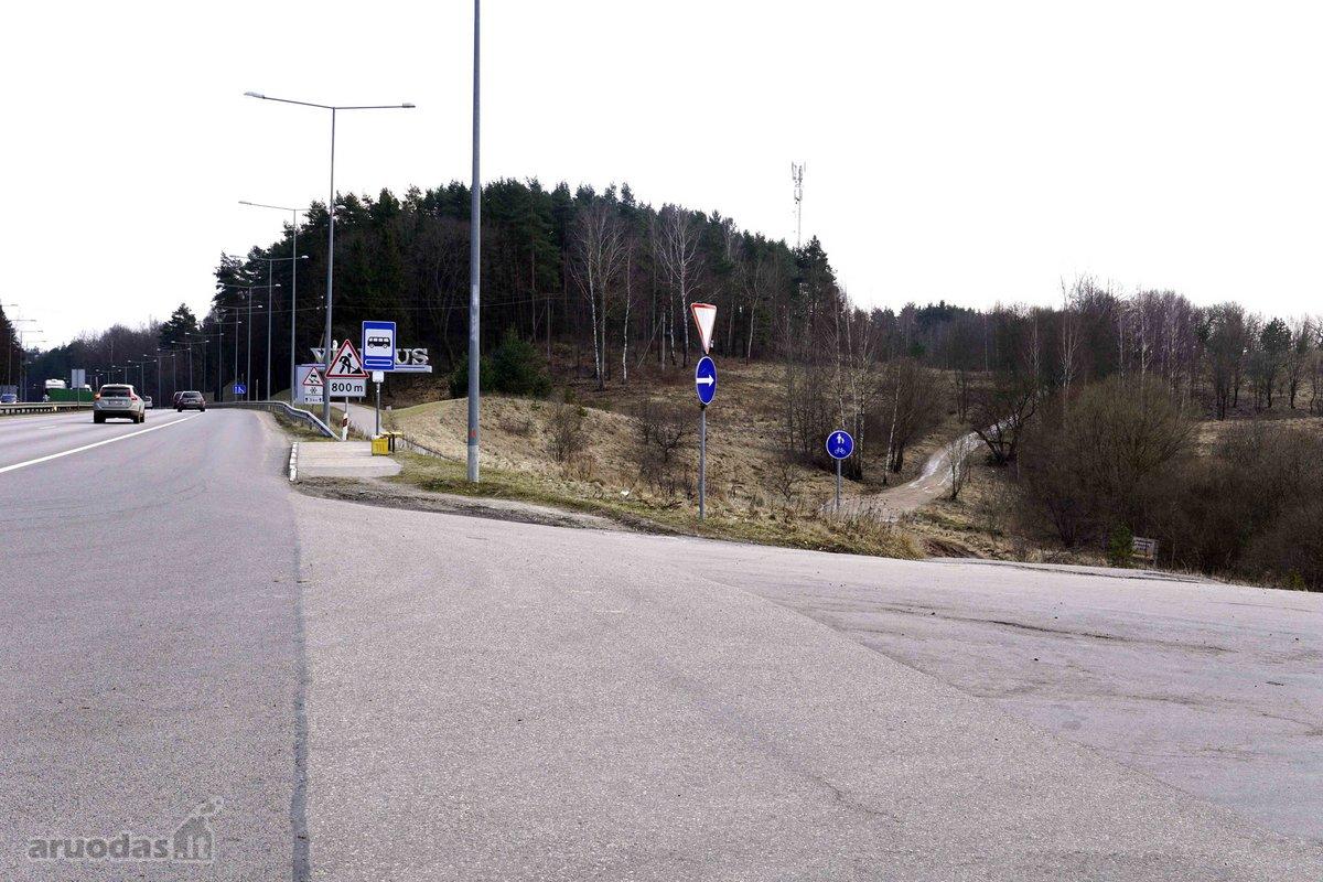 Vilnius, Grigiškės, Šaltinių g., daugiabučių statybos, komercinės paskirties sklypas