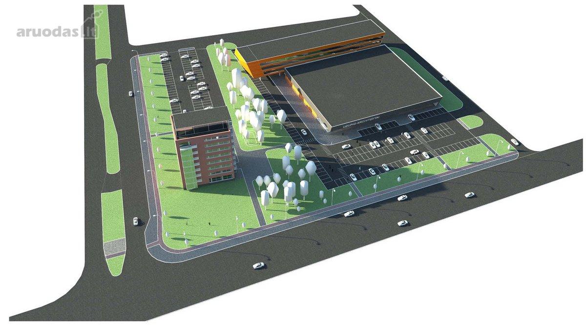 Klaipėda, Statybininkų pr., daugiabučių statybos, komercinės paskirties sklypas