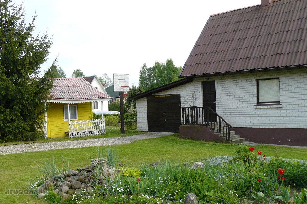 Vilniaus r. sav., Vilkiškių k., mūrinis namas