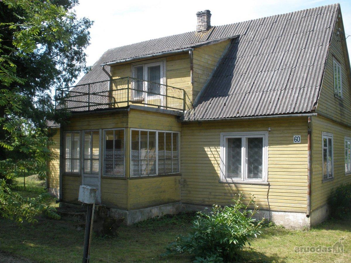 Pasvalio r. sav., Manikūnų k., Manikūnų g., wooden house