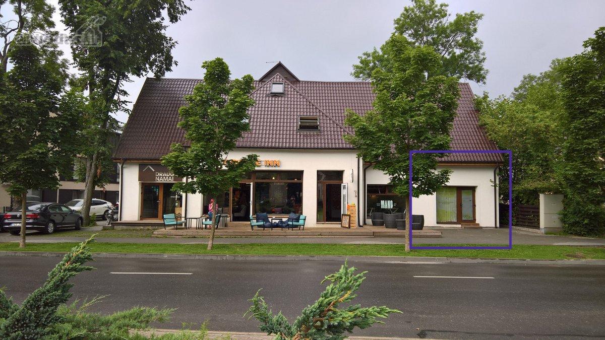Druskininkų m., Šv. Jokūbo g., biuro, prekybinės, paslaugų, maitinimo, kita paskirties patalpos nuomai