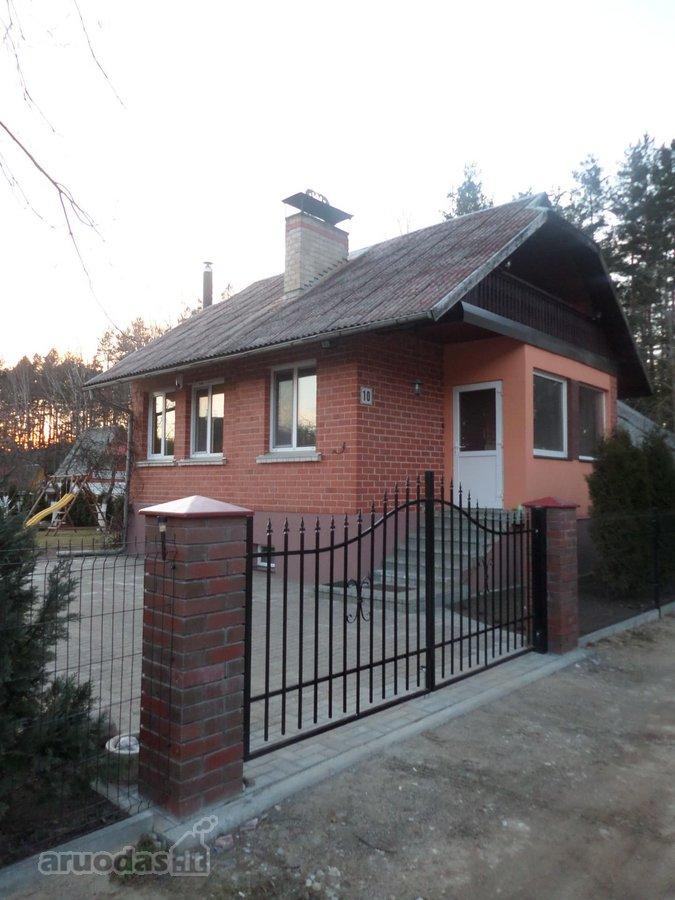 Vilnius, Antakalnis, Balžio g., mūrinis sodo namas