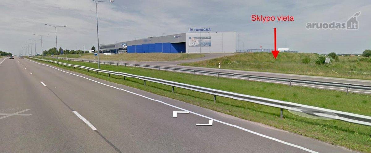 Vilnius, Rasos, Minsko pl., gamybinės, sandėliavimo, komercinės, rekreacinės paskirties sklypas