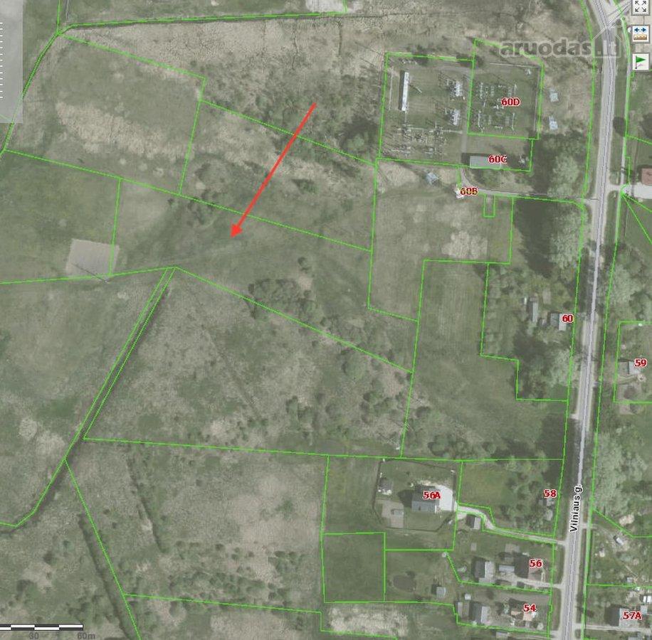 Vilniaus r. sav., Paberžės k., Vilniaus g., žemės ūkio paskirties sklypas