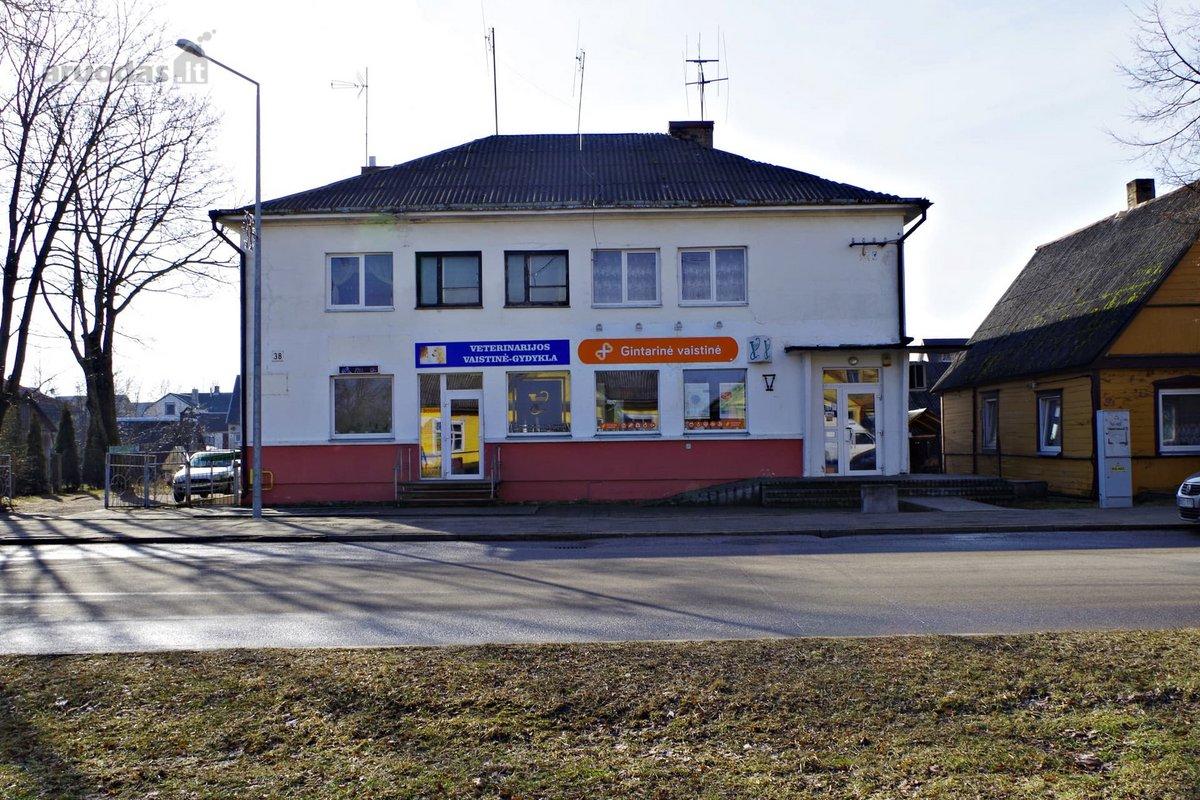 Elektrėnų sav., Vievio m., Vilniaus g., prekybinės paskirties patalpos