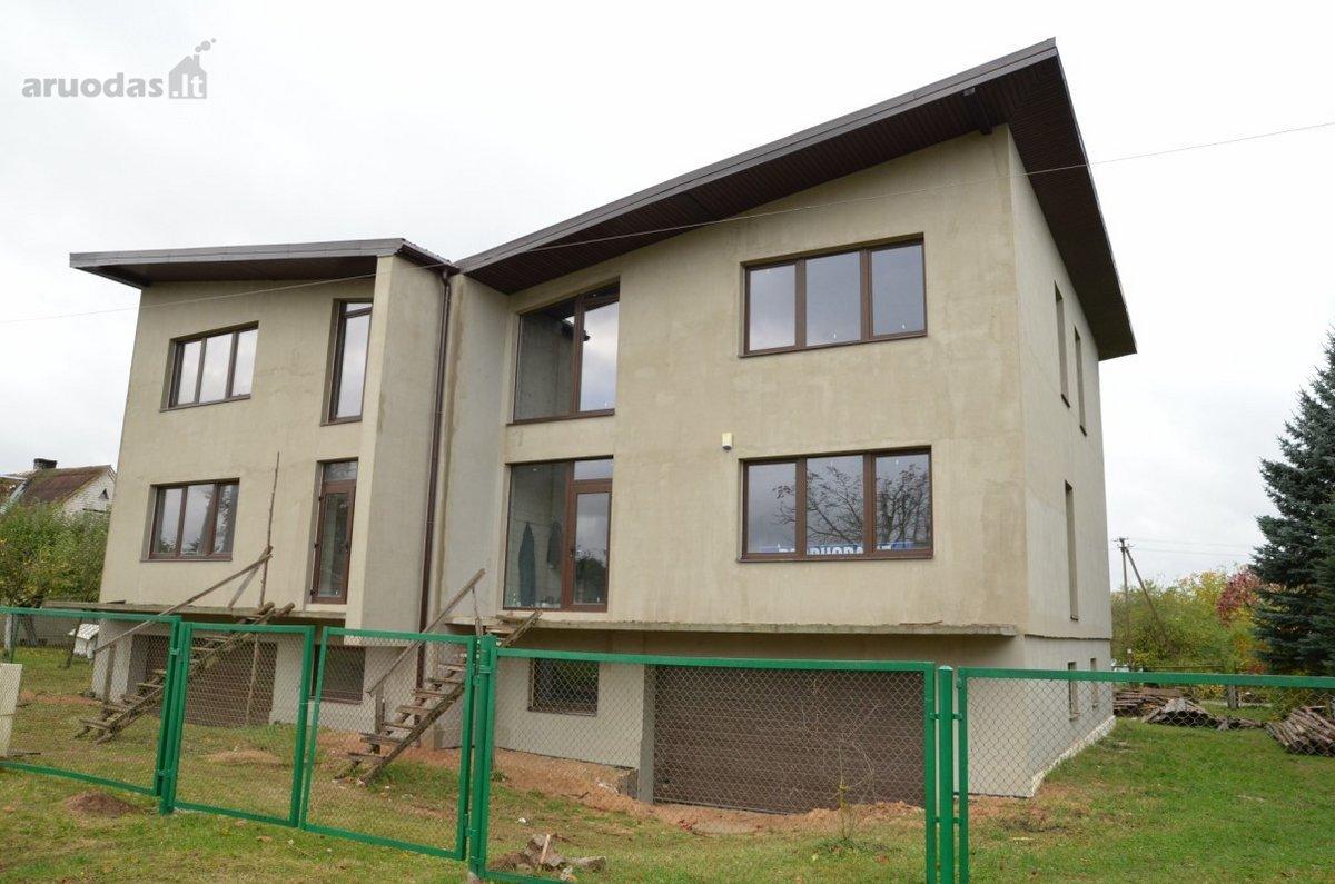 Vilniaus r. sav., Riešės k., Miško g., mūrinis namas