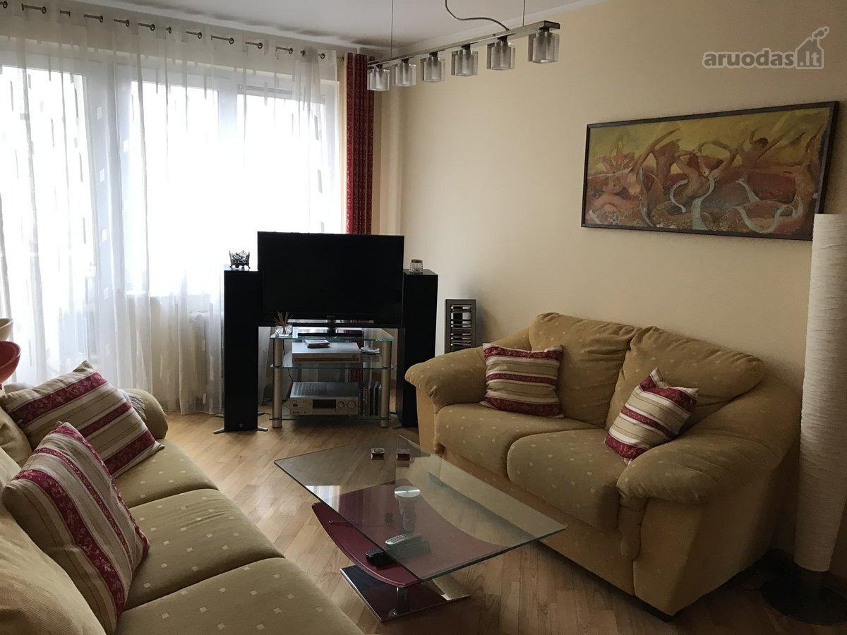 Kaunas, Dainava, V. Krėvės pr., 4 kambarių butas