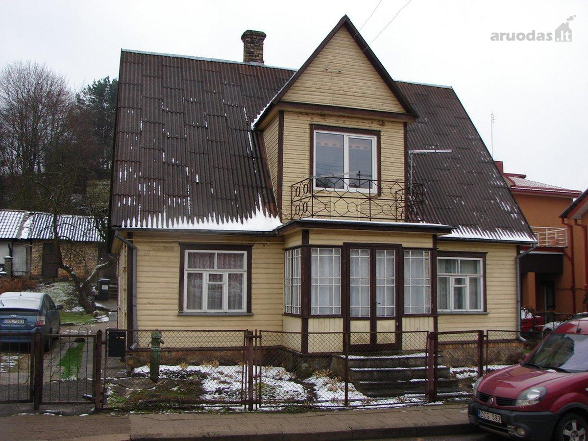 Vilnius, Antakalnis, Filaretų g., medinis namas
