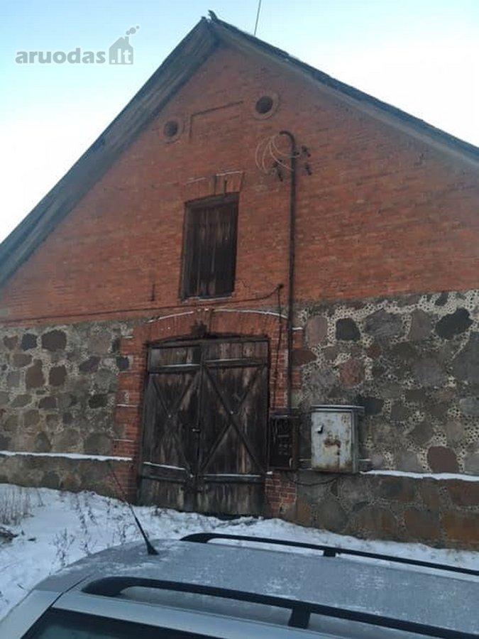 Šalčininkų r. sav., Vilkiškių k., sandėliavimo paskirties patalpos