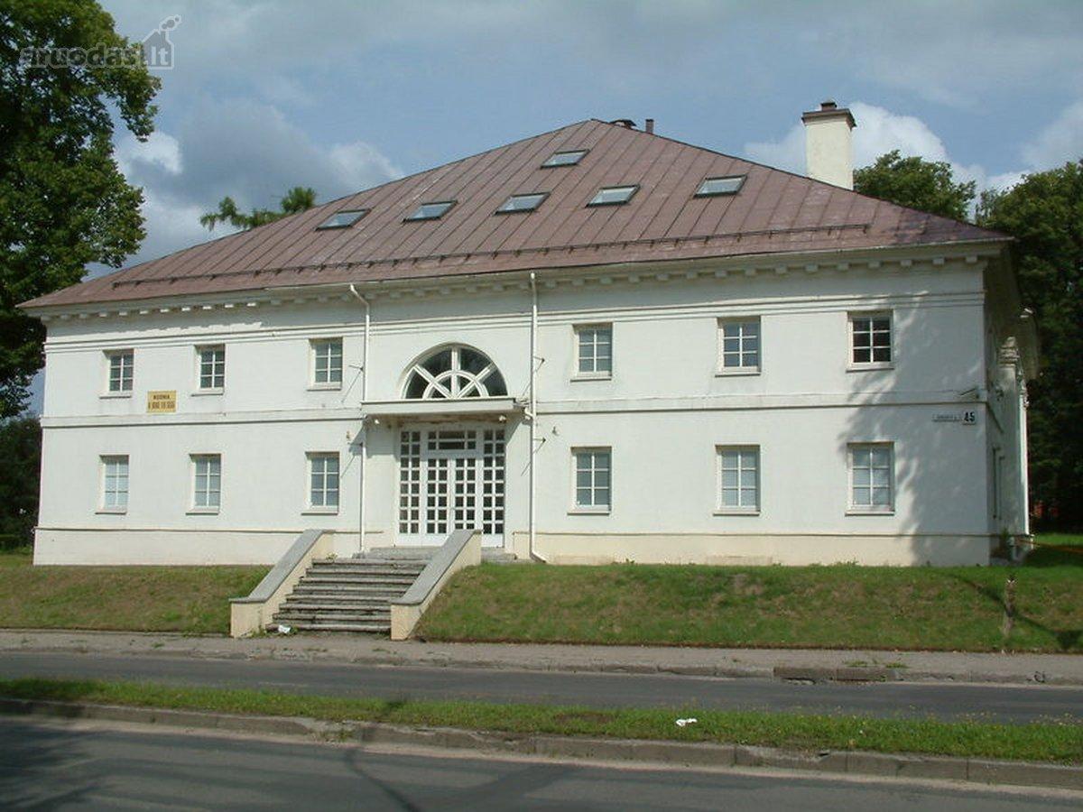 Parduodamas pastatas esantis Verkių