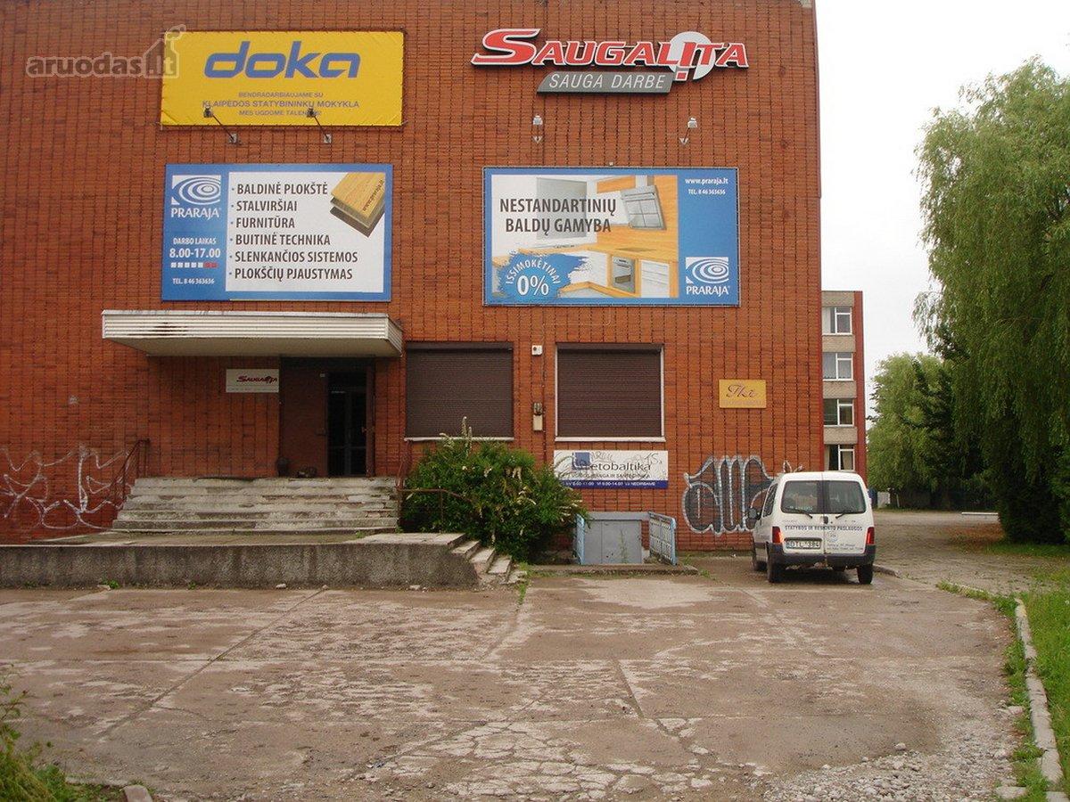 Klaipėda, Kaunas, Taikos pr., gamybinės, prekybinės, sandėliavimo paskirties patalpos
